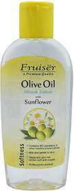 Fruiser Olive Oil with Sunflower, Softness - 150ml