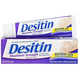 Desitin Maximum Strength Original Nappy Cream - 113G (4oz) (Pack of 2)