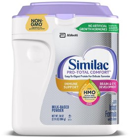 Similac Pro-Total Comfort Infant Formula (HMO) (Non-GMO) - 964G (34oz) (USA)