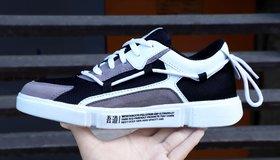 Woakers Men's Gray Sneakers