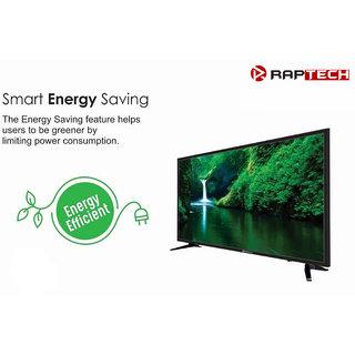 Raptech 80 cm (32 inches) HD Ready LED Normal TV 32HDX Pro (Black) (2019 Model)