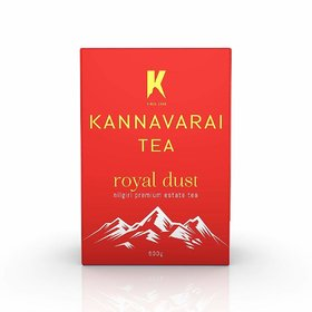 Kannavarai Tea Royal Dust, Pack of 2 x 250 Grams (Total 500 Grams)