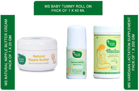 Mother Sparsh new mother feeding care regime with baby tummy care