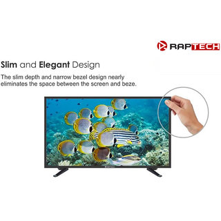 Raptech 60 cm (24 inch) HD Ready LED TV  24HDX100s (Black)