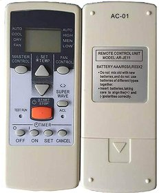 Cosmos AC Remote Model AR-JE11 Compatible for Window/Split O General AC (Please Match with Existing Remote Before Order)