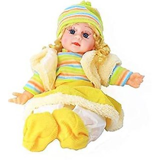 Singing Musical Baby Poem Doll Toy