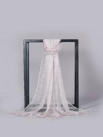 Welkin Accessories Eleganza silk scarf divine piece for evening wear (Length : 180cm)