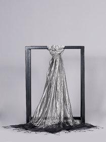 Welkin Accessories Zariwa scarf with embellishments. (Length : 180cm)
