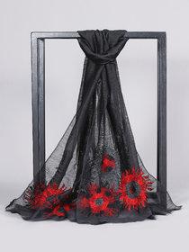 Welkin Accessories Gala silk & mohair scarf (Length : 180cm)