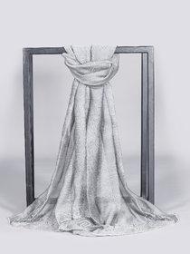 Welkin Accessories Eleganza silk blend scarf with eye catching detailing (Length : 180cm)