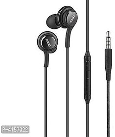 AKG  Handfree Mobile Phone Wired Headset (Black, in the ear)