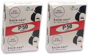 KOJIE SAN SKIN LIGHTENING SOAP 2X65gm (Pack of 2, 2x65g Each)