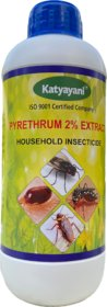 Pyrethrum Household Insecticide 2 Extract  for Mosquitoes, Flies, Cockroach and Bed Bugs etc Fogging Pesticide