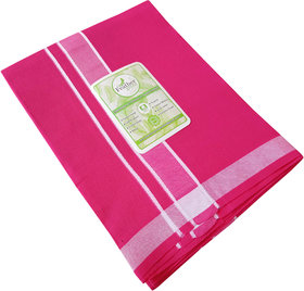 Feather Green  Pink Dhoti