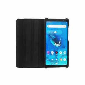 ECellStreet Back Cover for Lenovo Tab V7 64 GB 6.9 Inch with Wi-Fi+4G Tablet (Onyx Black)