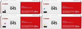 Canon 045 Toner Cartridge Pack Of 4 Black,Cyan,Yellow,Magenta For Use imageCLASS MF634Cdw, MF632Cdw, LBP612Cdw