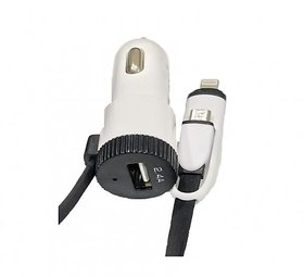 UBON CH-2200 2 In 1 2.4Amp Fast Car Charger