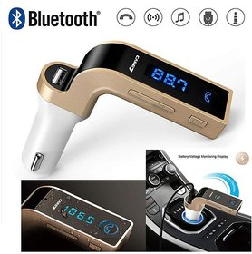 Car G7 Bluetooth FM Transmitter with USB Flash Drives