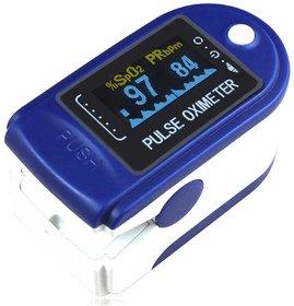 Thermocare pulse oximeter fingertip JZK-301 Blue Fingertip Pulse Oximeter Oximetry Blood Oxygen Saturation Monitor