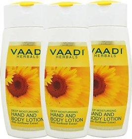 Vaadi Herbals HAND AND BODY LOTION  (110 ml)