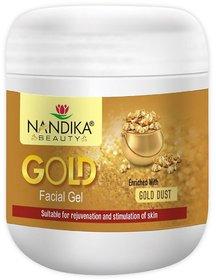 NANDIKA BEAUTY GOLD FACE GEL 500 GM