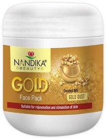 NANDIKA BEAUTY GOLD FACE SCRUB 500 GM