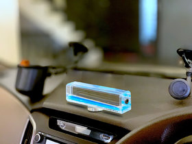 Car Dashboard Wave Vessel showpiece Interrior Accessory Ocean Blue