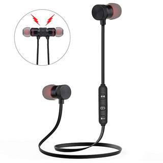 Trendster Wireless Earphone Magnet In the Ear Bluetooth With Mic