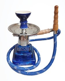 Mya Tut Hookah For Huge Smoke With Tong Free Assorted Colours
