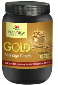 NANDIKA BEAUTY GOLD MASSAGE CREAM 1 KG
