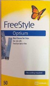 Abbott Freestyle Optium 50 strips (only for freestyle optium Neo Meter )