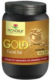 NANDIKA BEAUTY GOLD FACE GEL 1 KG