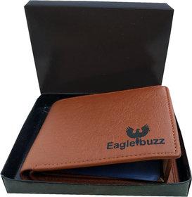 Eaglebuzz Men Tan wallet (E4)