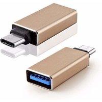 USB Type C OTG Cable  White