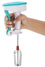 Plastic Blue Power Free Hand Blender Or Beater - Assorted Colors By Karnavati