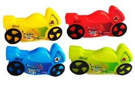 Bike Shape Toy Stationary Holder Pen Pencil Case Storage Box Students, Return Birthday Gifts for Kids Boys Girls (Pack o