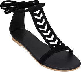 Abon Velvet Sandal For Women