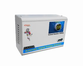 Rahul Dazler 300a 300VA 100-280 Volt 5 Booster,Use a Maximum of 1.3 Amp This Load Digital Automatic Voltage Stabilizer