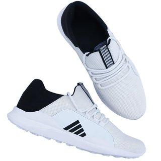 White Walking Running Sports Shoes