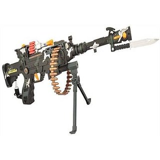 Buy Musical Army Style Ak 47 Gun Toy Gun For Kids With Music Lights And Laser Light Multicolor Guns Darts Multicolor Online Get 50 Off
