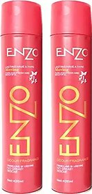 Enzo Hair Styling Spray Net Red Set 2PCS