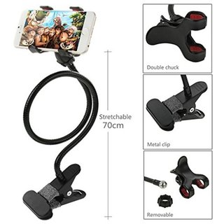 Lazy holder 405ASmart phone compatiable Long Lazy Stand 360 degree standMobile Phone Holder Stand Desktop Stand Snake standTable mobile standBed Stand Desk Stand