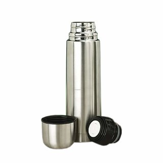 Modware Bullet With Pouch -500Ml Vacuum Hot And Cold Stainless Steel Water Bottle -Keeps Drinks Hot Or Cold More Than 18