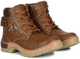 LeeGreater Brown Comfortable  Fashionable Outdoor Boots