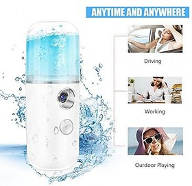 USB Handy Nano Mist Spray Atomization Mister Face Facial Moisturizing Mist Sprayer