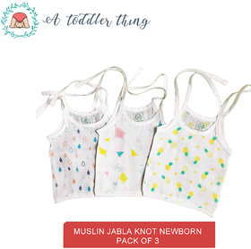 A Toddler Thing Organic cotton knot type Muslin baby Jabla 3-6month