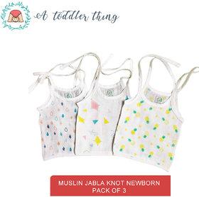A Toddler Thing Newborn Knot  up muslin Jabla (Organic Cotton )
