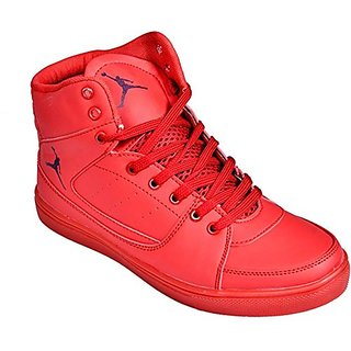 Red Sneakers For Kids
