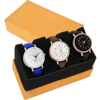 Miss Perfect Multi Strap Color Analog Watch
