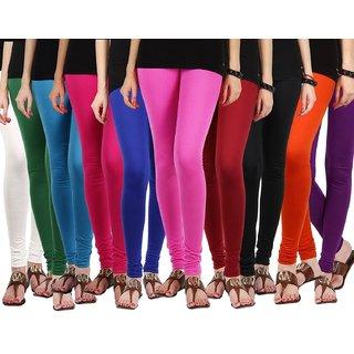 Safa Twin Heart Multi Color Leggings